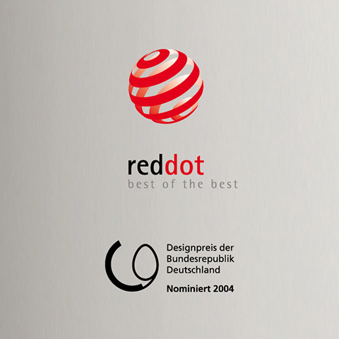 red dot design award für blue object Magnetsegel STAND By floor